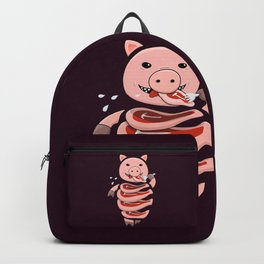 Gluttonous Cannibal Pig Backpack