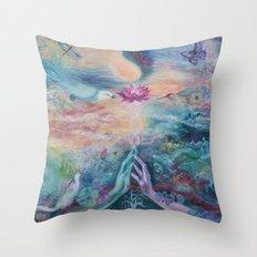 Divine Sacred Union Throw Pillow