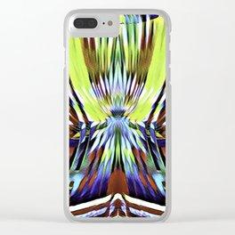 Candy Stripe Gum Clear iPhone Case