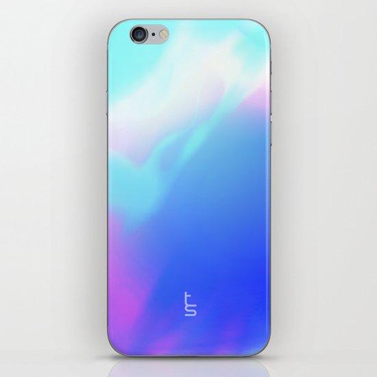 Pastel Vortex iPhone & iPod Skin