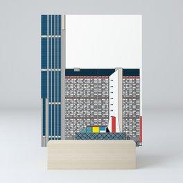 Complejo Parque Central -Detail- Mini Art Print