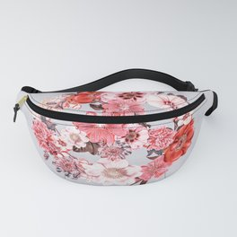 Botanica Peace sign - coral Fanny Pack