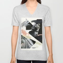 Untitled (Painted Composition 3) Unisex V-Neck