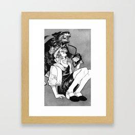 Bite Me (Rott) Framed Art Print
