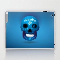 Get fcking life Laptop & iPad Skin