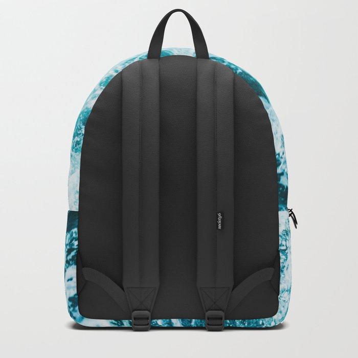Adventure Begins - Perfect Sea Waves Backpack