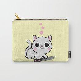 Kitty Hearts Kill - Cats Love Plotting Carry-All Pouch