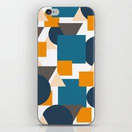 Geometric Mixture iPhone Skin
