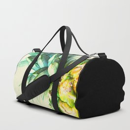 Green Pineapple Duffle Bag