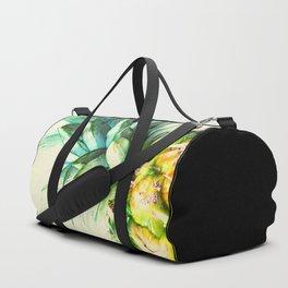 Green Pineapple Duffle Bag