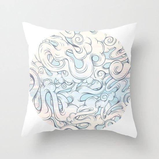 Entangled Souls Throw Pillow