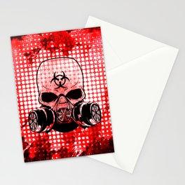 Guerrilla Bio-Hazard Warrior Stationery Cards
