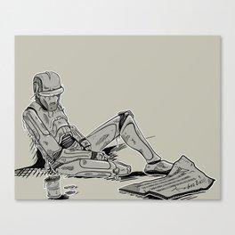 Obsolete Canvas Print