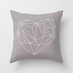 Heart Graphic Throw Pillow