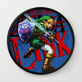 The Legend of Link Wall Clock
