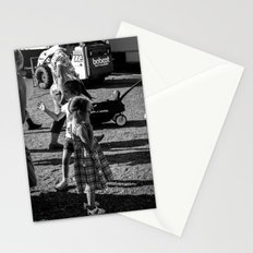 Little Girls at the Carnival Stationery Cards