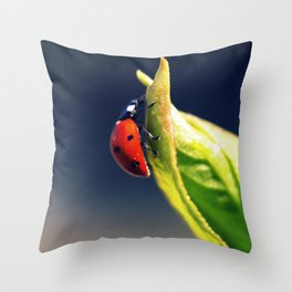 The first real sign of Spring Throw Pillow