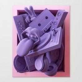 Framed - Music Canvas Print