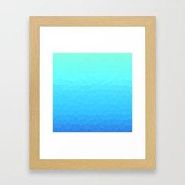 Deeper and Deeper Framed Art Print