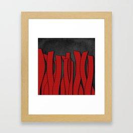 Languettes Framed Art Print