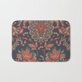 Baroque Vintage Pattern Bath Mat