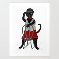 Cabaret Magic Art Print