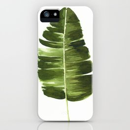 Nature leaves II iPhone Case