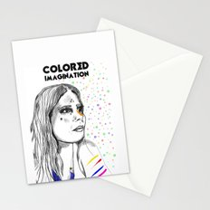 Colored Imagination #2 Stationery Cards