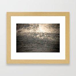 Athabasca Glacier Framed Art Print