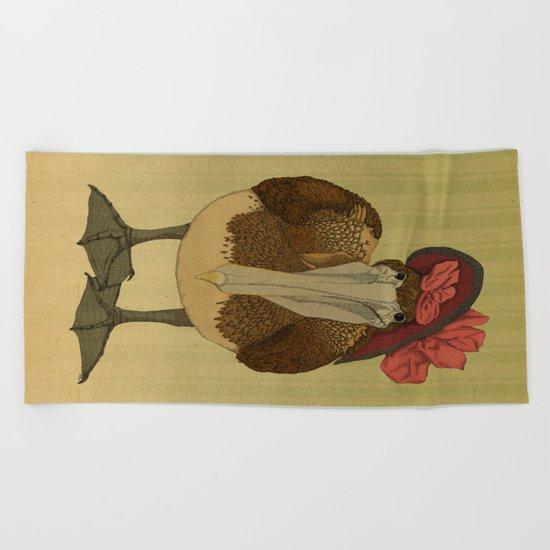 Plumpkin Ploshkin Pelican Jill Beach Towel