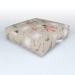 Xmas Pattern #socieyt6 #buyart Outdoor Floor Cushion