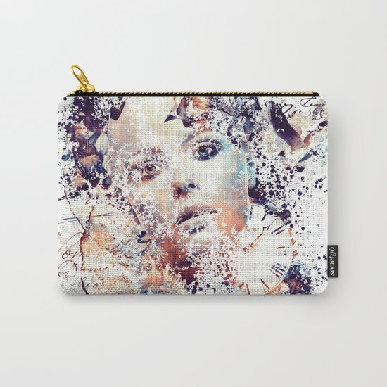 Fragmented Memories Carry-All Pouch