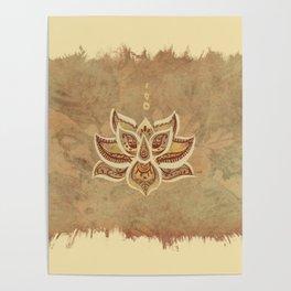 Loto Flower Poster