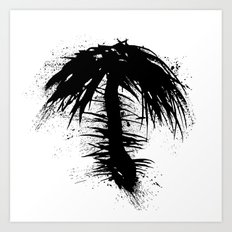 By The Palm Art Print