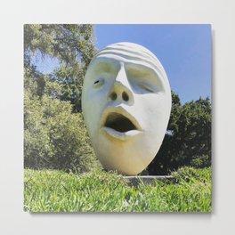 Egghead Metal Print