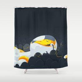 Egg Breath Shower Curtain