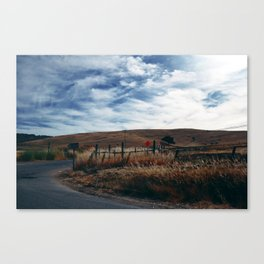Wine Country Landscape Canvas Print