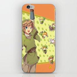 Legend of Zelda: Link time iPhone Skin