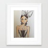 scrubs Framed Art Prints featuring Scrubs to Couture  by Scrubs to Couture- by Craig