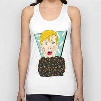 home alone Tank Tops featuring Home Alone by Elena Éper