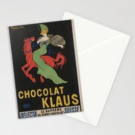 Vintage poster - Chocolat Klaus Stationery Cards