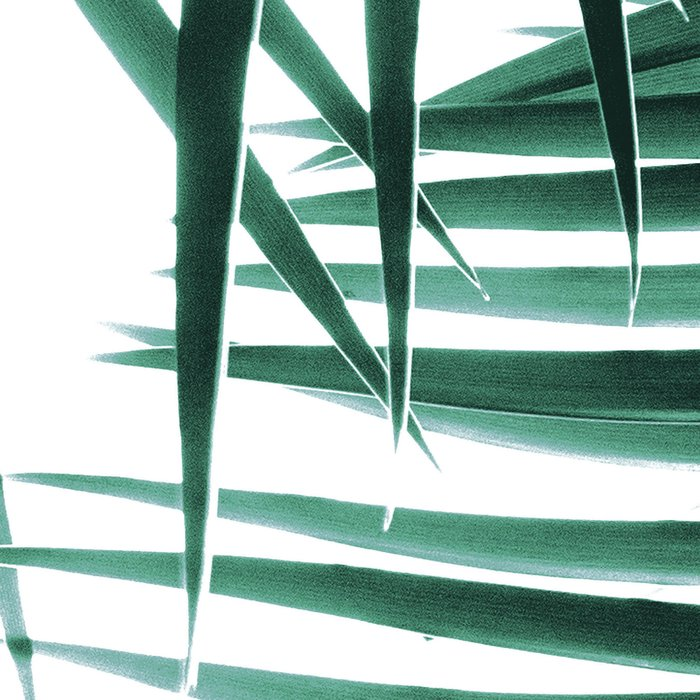 Palm Leaves Green Vibes #8 #tropical #decor #art #society6 Leggings