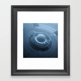 Key Sphere Framed Art Print