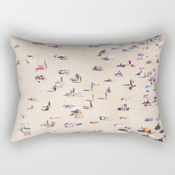 Beach Love VIl Rectangular Pillow