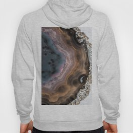 Multi-colored Agate slice Hoody