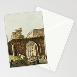 Part of Jerusalem from Views in the Ottoman Dominions, in Europe, in Asia, and some of the Mediterra Stationery Cards