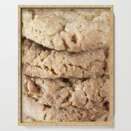 crumble wheat cookies Serving Tray