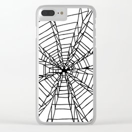 Dimensions Clear iPhone Case