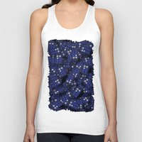 fandom Tank Tops featuring Tardis by 10813 Apparel