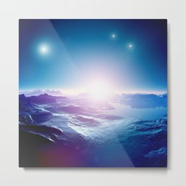 Computer Graphics Art - 7 Metal Print